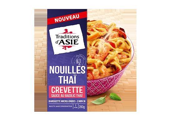 Nouilles Thaï crevette sauce sucrée salée 280gr