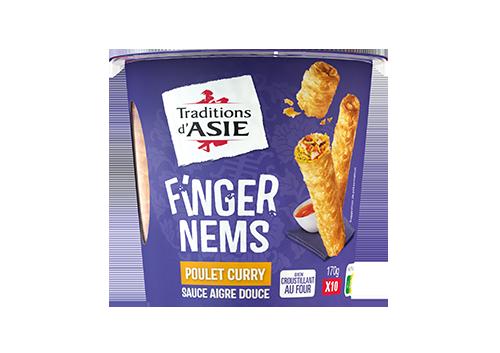 Finger Nems Poulet Curry 170g