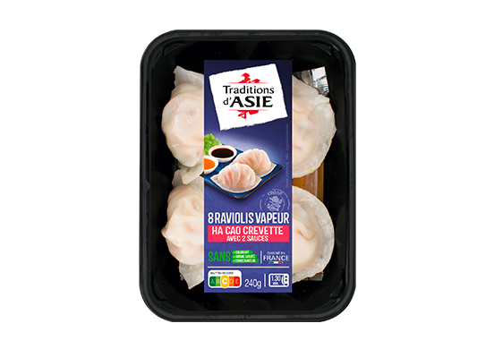 8 Hacao (Raviolis Vapeur aux Crevettes) 240g